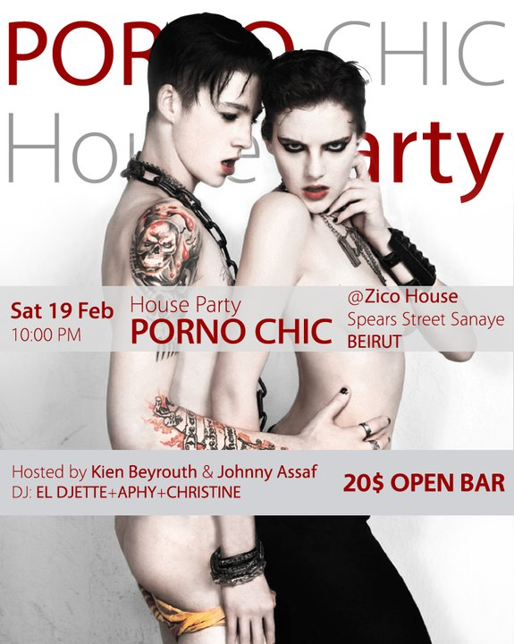Porno Chic House Party