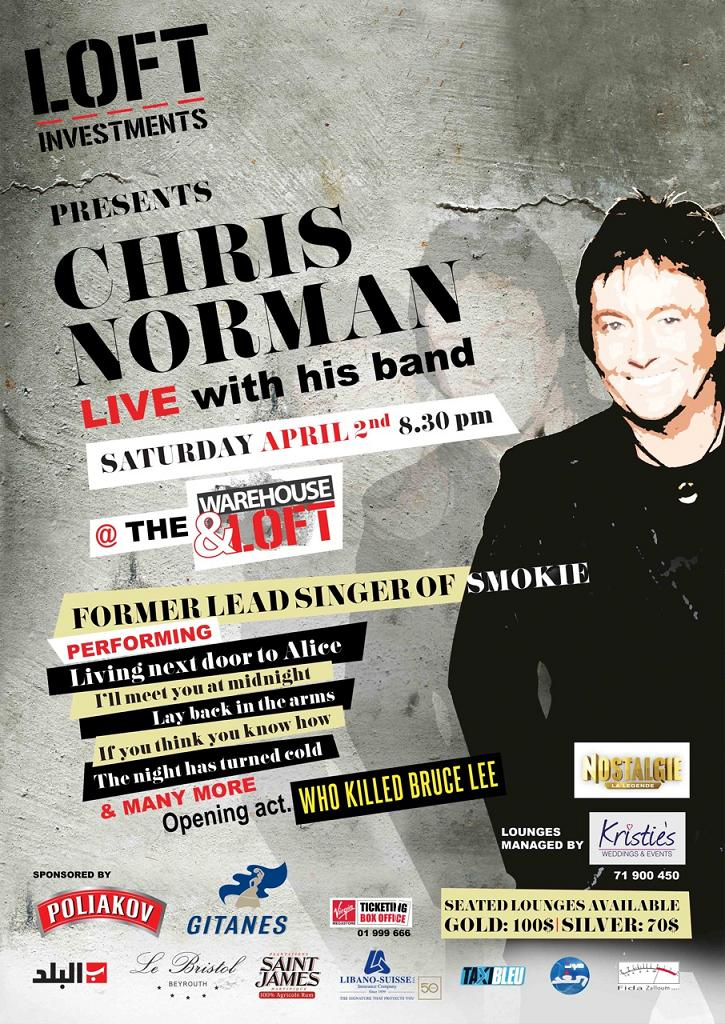 Chris Norman Live In Beirut