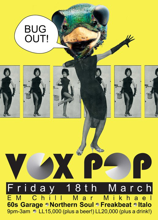 Vox Pop Dance Party At Em Chill