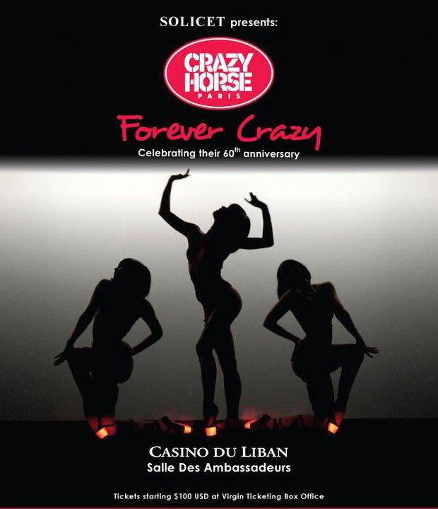 Crazy Horse Paris Forever Crazy World Tour
