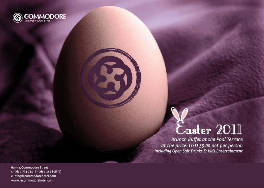 Easter At Le Commodore