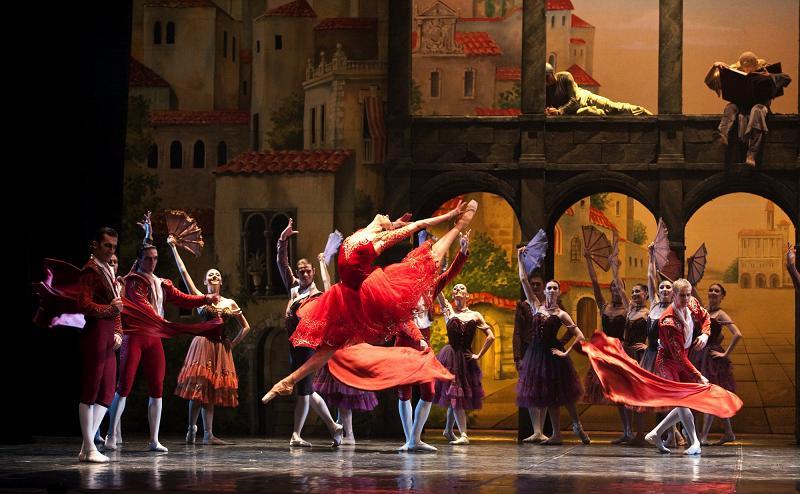 Boris Eifman Ballet Theatre Of Saint-Petersburg At Baalbeck International Festival