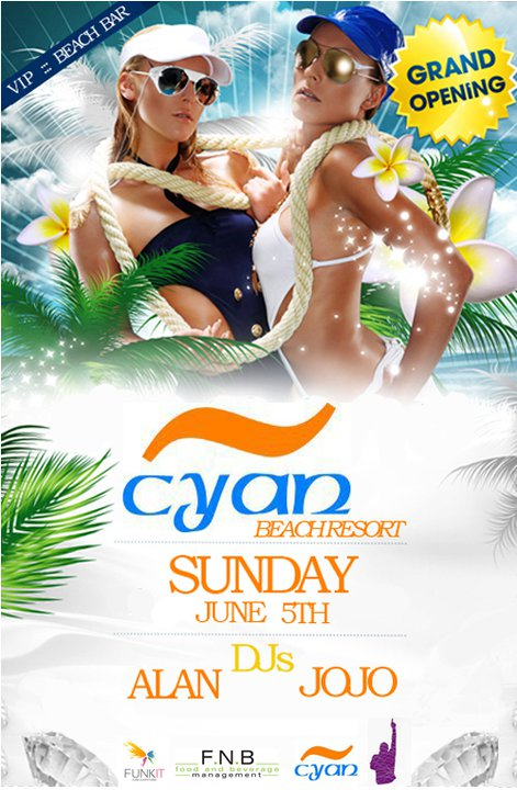 Cyan Beach Resort Grand Opening 2011