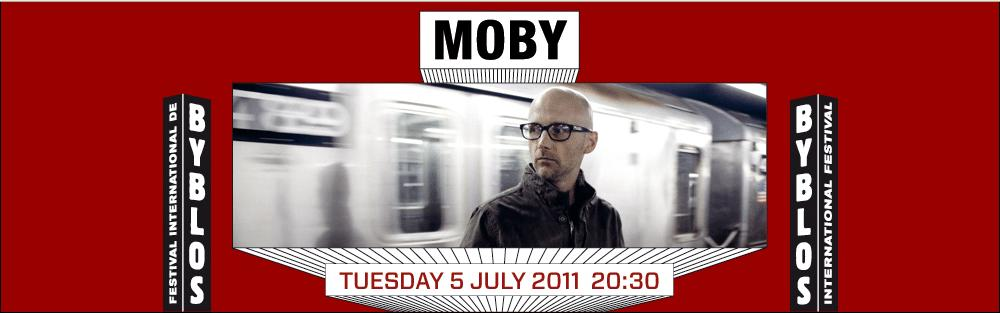 Moby At Byblos International Festival