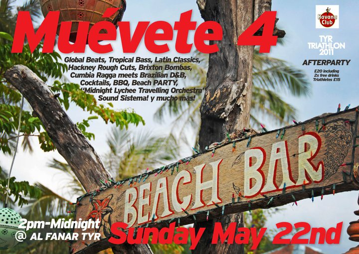 Muevete 4 Lebanon Beach Party