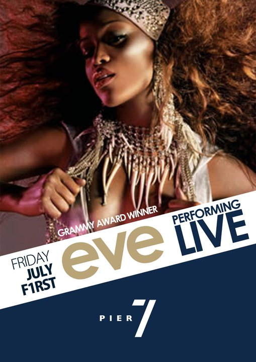 Diva Eve Performing Live At Pier 7