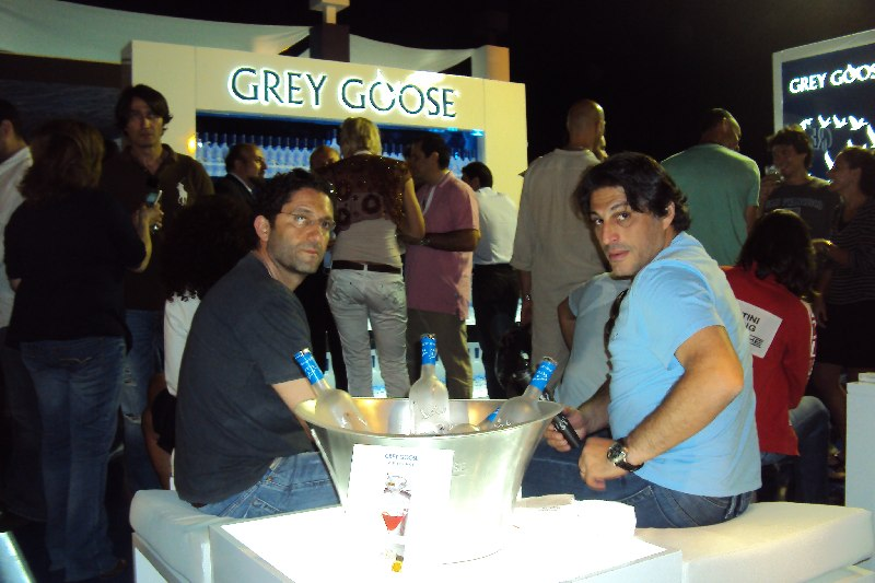 The Grey Goose VIP Lounge