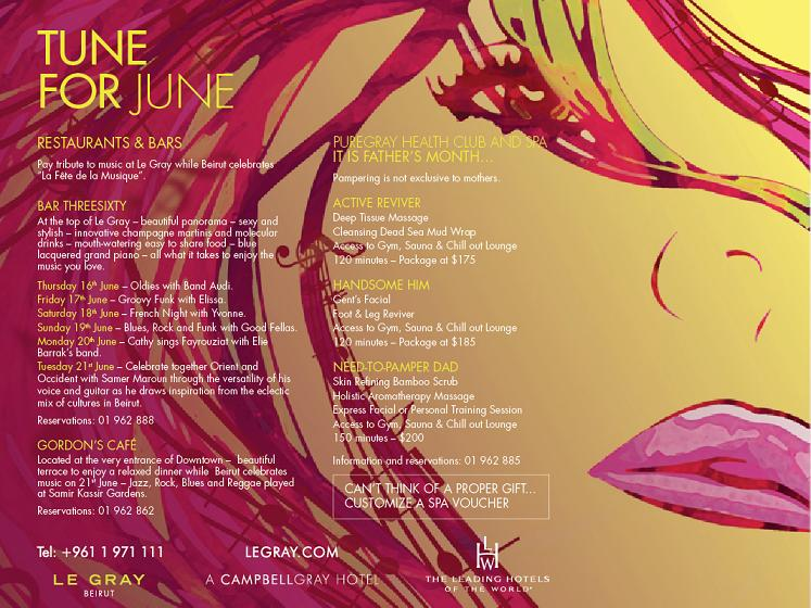 Tune For June At Le Gray Hotel