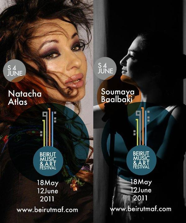 Natacha Atlas And Soumaya Baalbaki The Double Concert