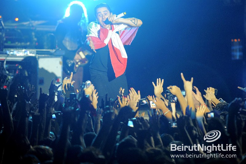 30 Seconds To Mars Rocks a Sold Out Show at Byblos