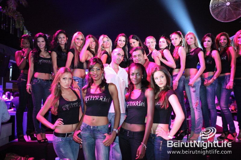 World Top Models Join The Party at Beiruf