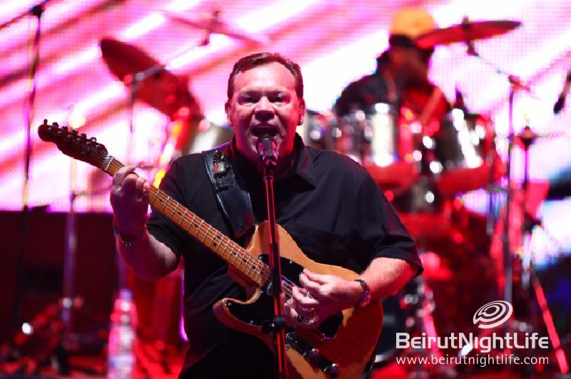 Ali Campbell of UB40 Live At The Batroun Festival