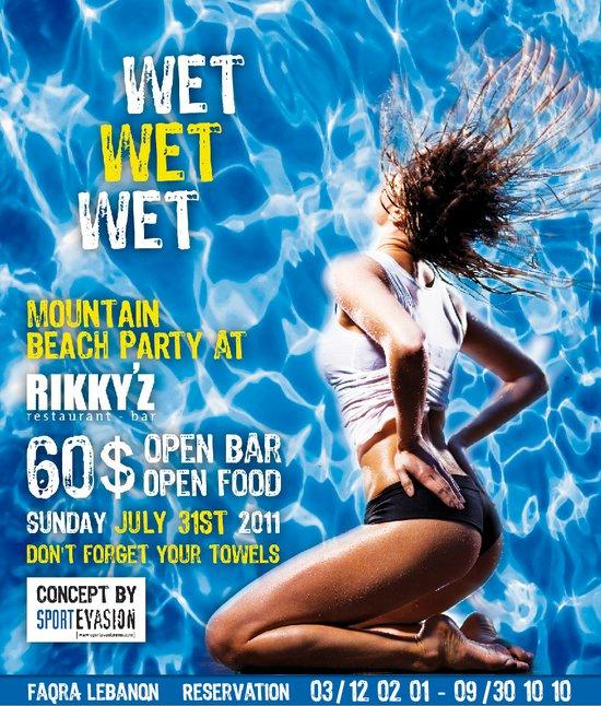 Wet Wet Wet At Rikky'z