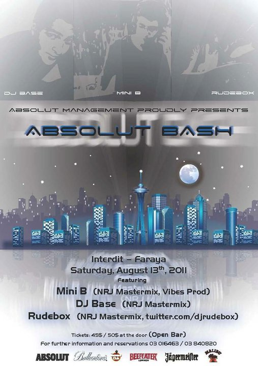 Absolut Bash At L'interdit