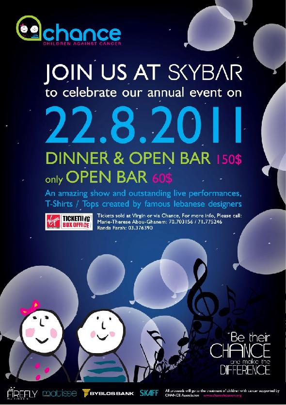 Chance Fundraising Event At Skybar