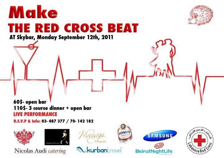 Make The Red Cross Beat At SkyBar