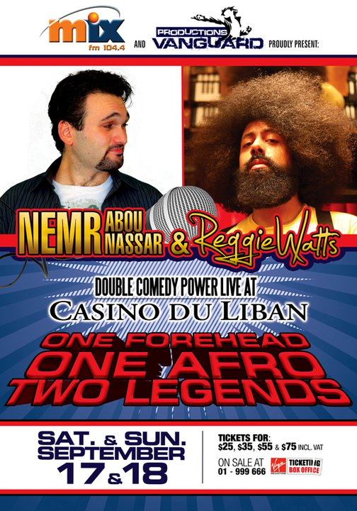 Nemr And Reggie Watts Live At Casino Du Liban