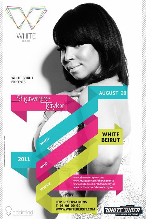 Shawnee Taylor At White
