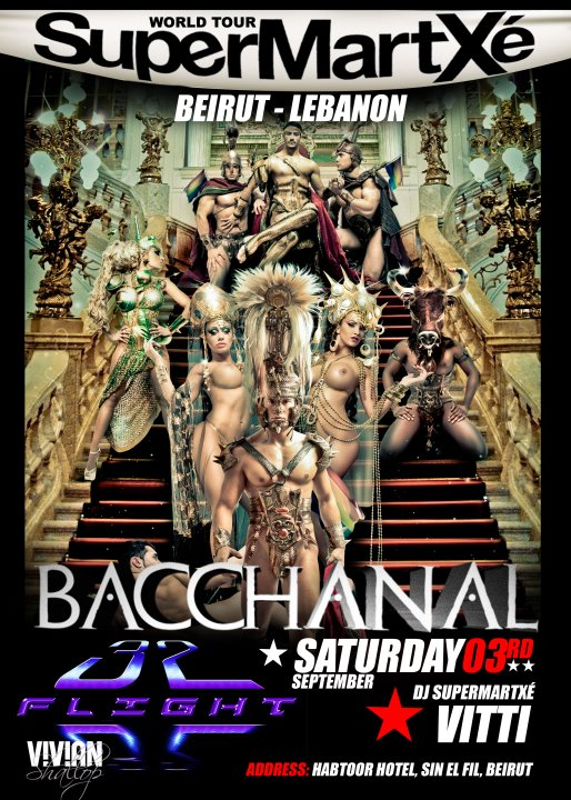 SuperMartXe World Tour Bacchanal At Flight 32