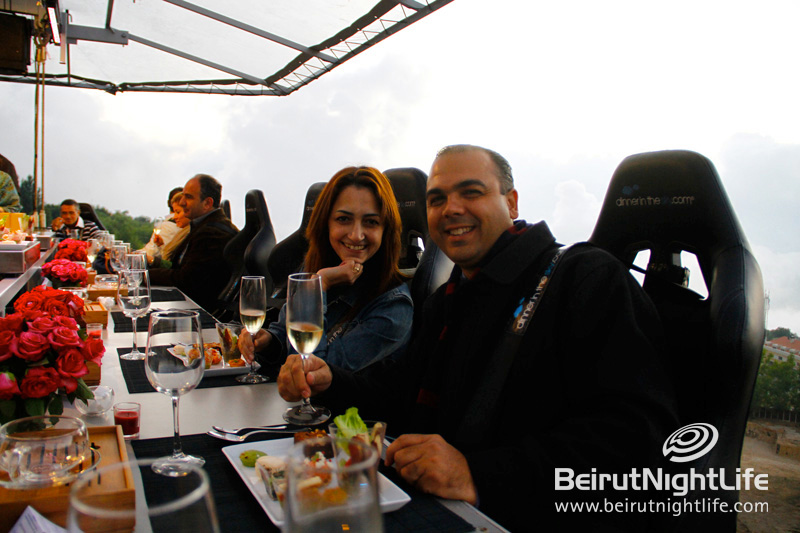 Faqra Club and Dinner in the Sky: Enjoying Meals Suspended in the Air