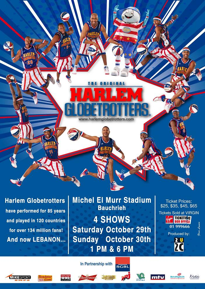 The Harlem Globetrotters Live In Lebanon
