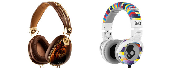 Dolce and Gabana Designs Headphones