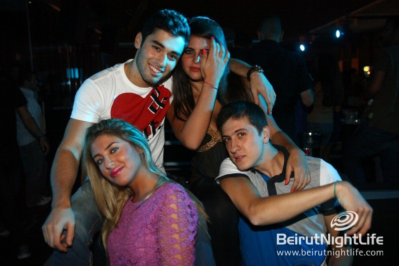 Saturday Night Chillin' On the Beiruf Rooftop