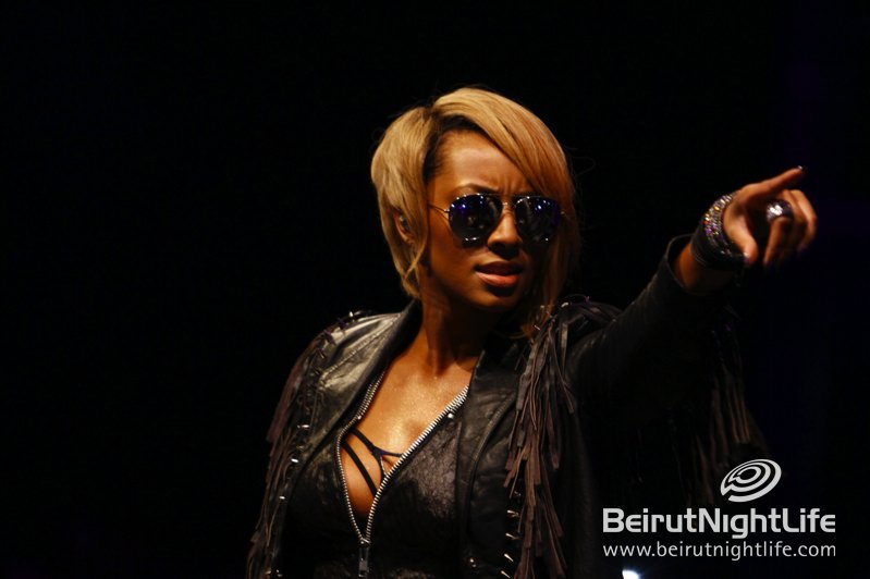 From Atlanta Georgia to Beirut Keri Hilson Gets Her Swag On!