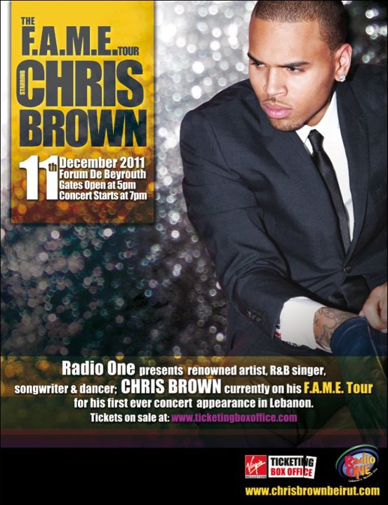 Chris Brown Live In Lebanon