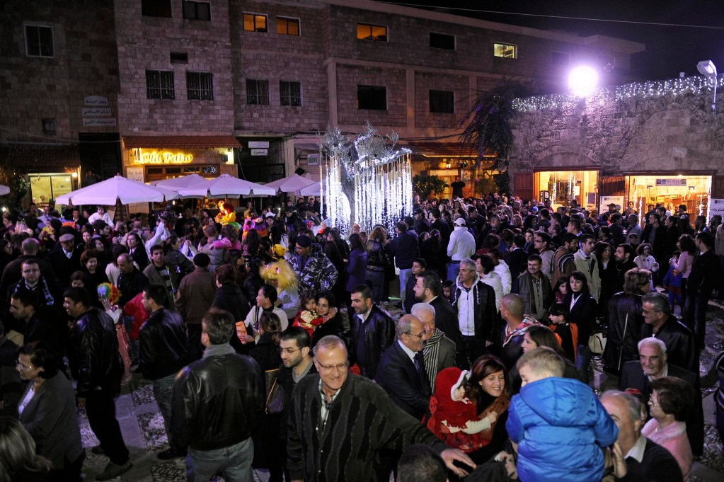 Byblos International Festival Committe Celebrate Christmas