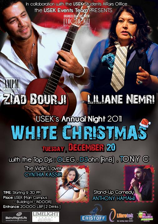 USEK White Christmas Party