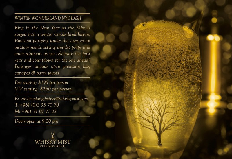 New Year's Eve At Whisky Mist
