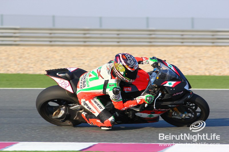 Aprilia Super Bikes Experience at Losail Circuit with ANB Motorcycle