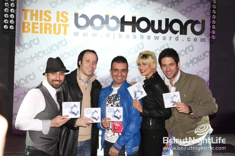 Bob Howard This is Beirut Album Launching at MAD