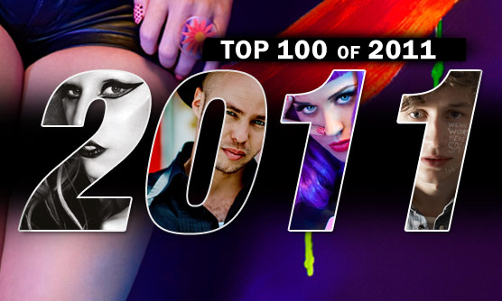 THE RESULTS ARE IN! HERE IS THE FINAL LIST OF THE NRJ'S TOP 100 OF 2011
