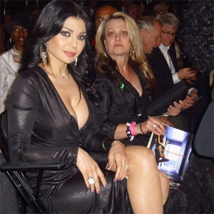 Haifa Wehbe at the Grammy Awards