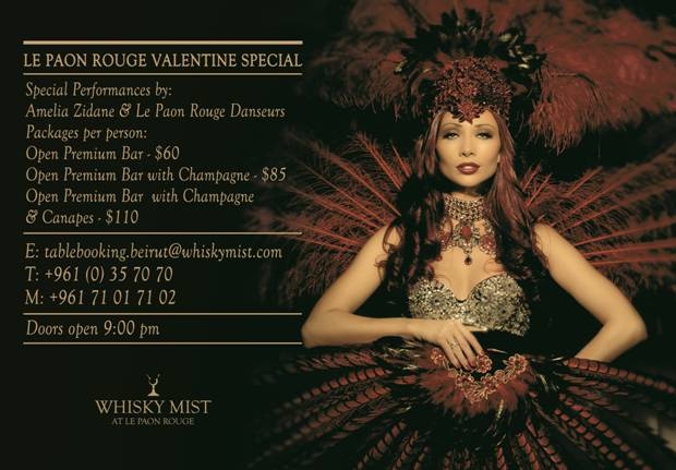 Celebrate Love at the Mist: Le Paon Rouge's Valentine Special