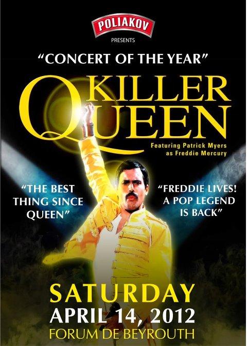 Killer Queen In Beirut