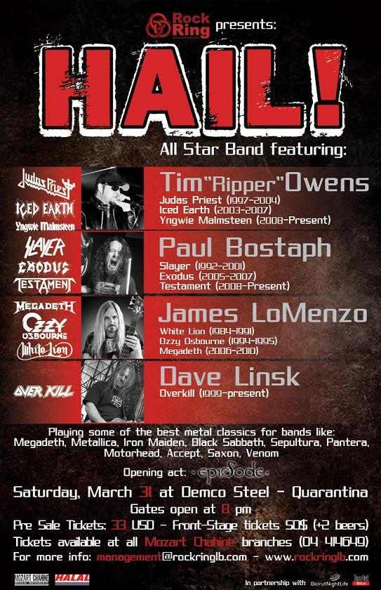 Rock Ring Presents Hail
