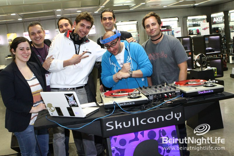 Skullcandy Takes Over the Airport at the Beirut Duty Free