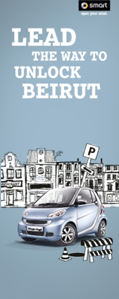 Smart Unlock Beirut Competition wins Gold Dubai Lynx Award