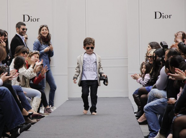 Baby Dior Fashion Show in Downtown Beirut
