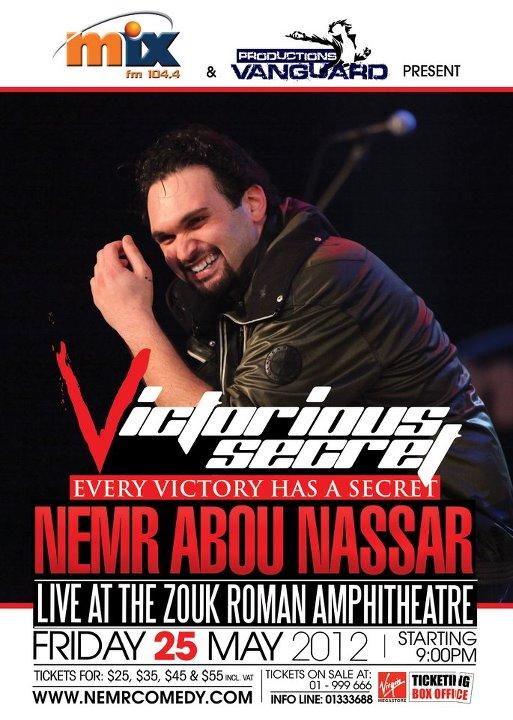 Nemr Live In Victorious Secret