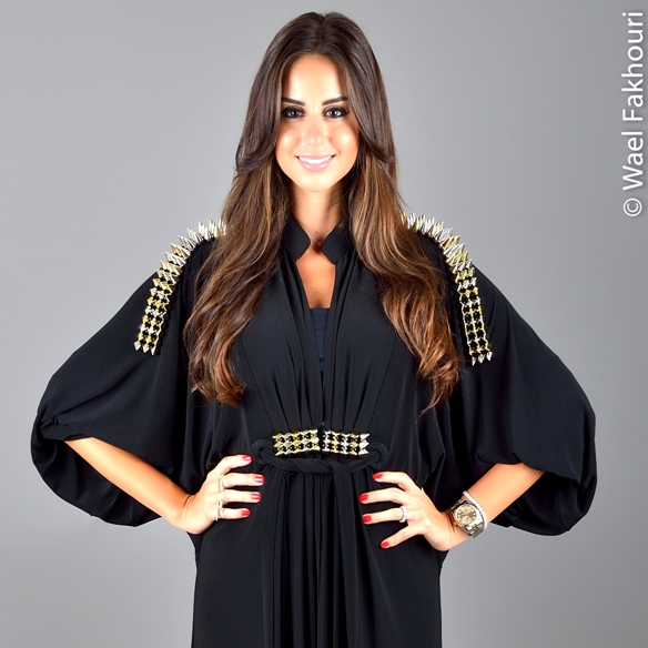 "Carol Keyrouz ""SPIKES"" – The Stylish Abaya Collection"