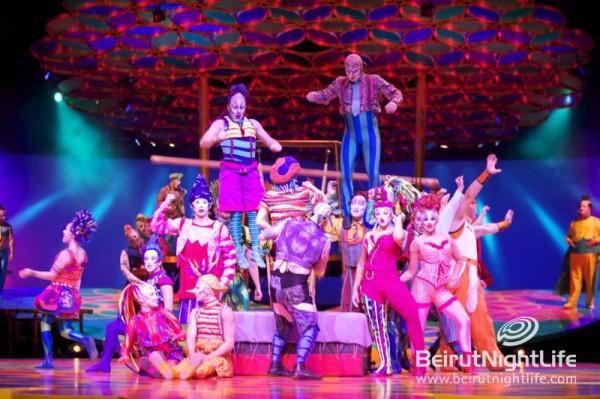 Cirque du Soleil's 'Saltimbanco' was a Success in Beirut