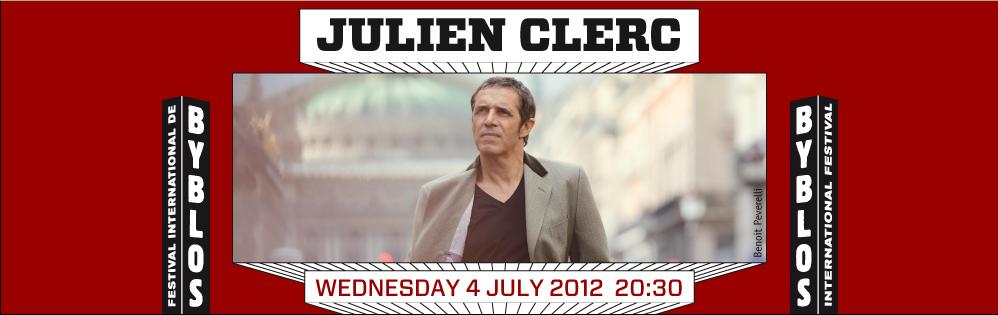 Julien Clerc Live At Byblos Festival