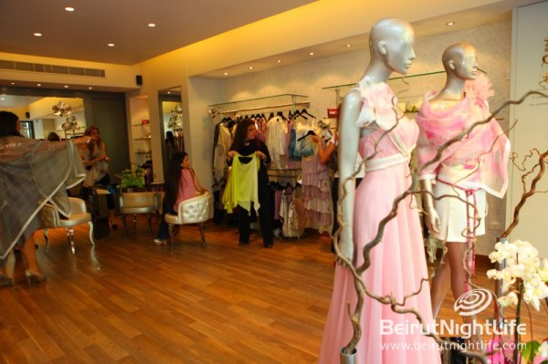 Hanna Touma Launches His 'Miss T' Boutique in Ashrafieh