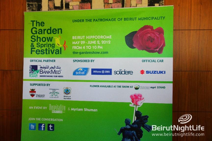 The Garden Show & Spring Festival 2012 Press Conference