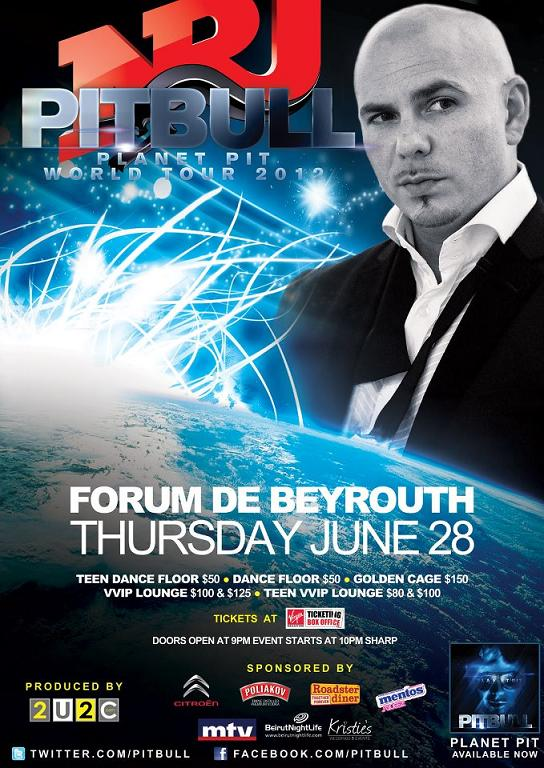 PitBull Live In Lebanon