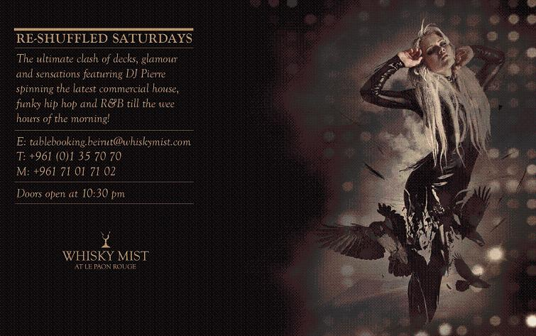 Re-Shuffled Saturdays At Whisky Mist